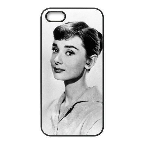 LP-LG Phone Case Of Audrey Hepburn For iPhone 5,5S [Pattern-6] Pattern-3