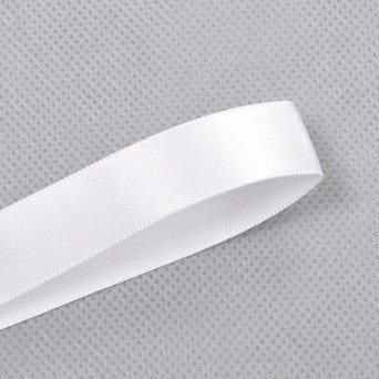 Yard 91,4 m (100)-Rotolo di nastro di raso Double face, larghezza 22 mm 7 cm %2f 20,32 (8-Carta da regalo, motivo: bouquet nuziale, colore: blu Navy bianco