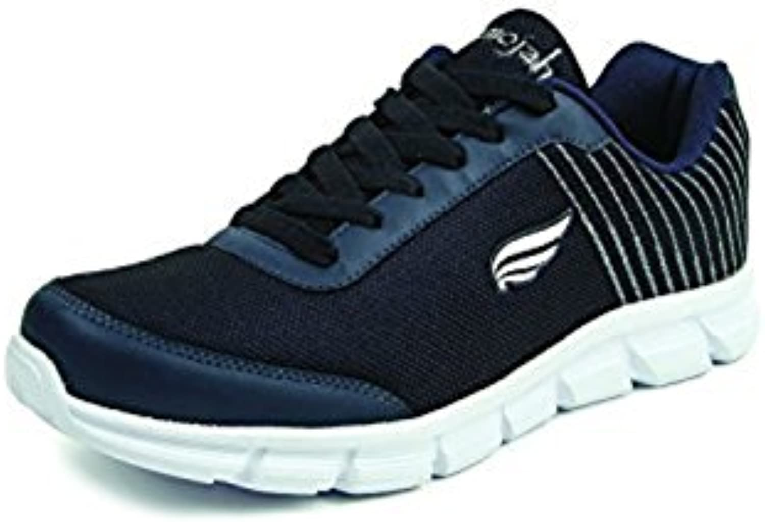 Mmojah Men Energy 35 Navy/Grey Voilet Running Sports Shoes 6
