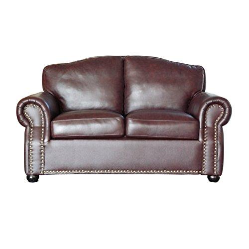 Vintage Sofa Sir Ledersofa 2er braun