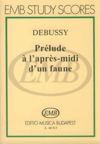 Prélude à l'aprés-midi d'un faune par Debussy C.
