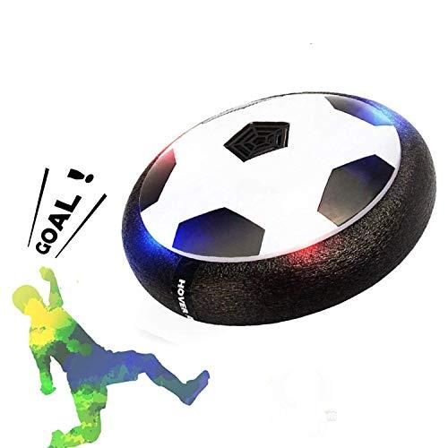 Air Power Fußball, Hover Power Ball Indoor Fußball mit LED Beleuchtung, Perfekt zum Spielen in Innenräumen ohne Möbel oder Wände zu beschädigen Beste Geburtstag Weihnachtsgeschenk für Kinder Mädchen