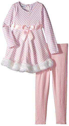 Bonnie Jean Mädchen Kleid, Playwear, Rosa, 6X Bonnie Jean Capri-jeans