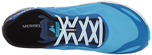 Merrell Mens Bare Flex Flex Scarpe Da Corsa Blu (ciano)
