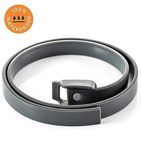 Anti Floh und Zecken Halsband von Simply Natural 58 cm anpassbares Anti Zecken Halsband – Anti Flohhalsband für Hunde…