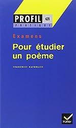 Pour étudier un poème, expression écrite et orale