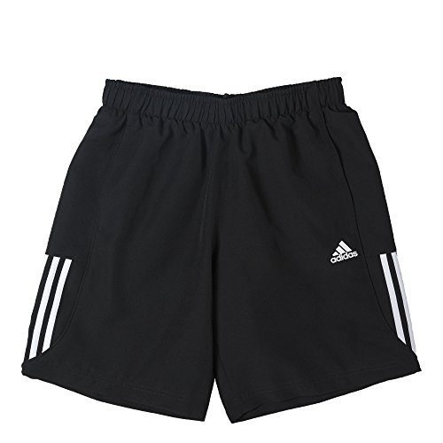 Adidas - Pantaloncini Essentials Chelsea, Uomo, Shorts Essentials Mid Chelsea, Black/White, XL