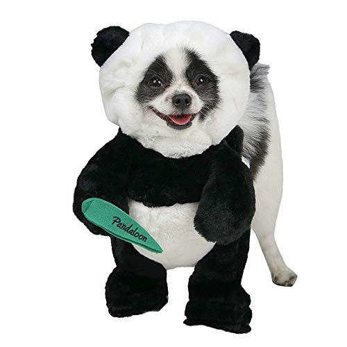 Pandaloon Panda Hunde- und Haustierkostüm, Set - wie auf Haifisch-Tank, spazierender Teddybär mit Armen, Size 2 (15-17 in total Height), (Hunde Mit Kostüm Auf)