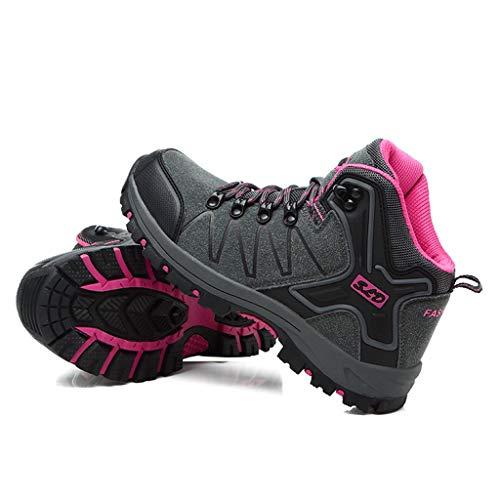 Fascino-M』 Wanderschuhe Herren Damen Wanderstiefel Atmungsaktive Stiefel, strapazierfähige Wanderstiefel, gepolsterte Wanderschuhe - Ideal für Trekking und Reisen Schuhe für Unisex Dual-wear Bluetooth