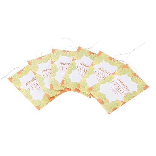 Lamdoo 1Pc Home Lufterfrischer Blume Zitrone Refresher Schrank Deodorant Duft -
