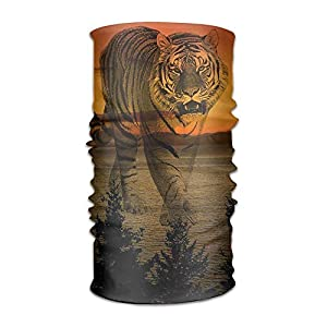 GHEDPO Stirnband Headwear Fantasy Tiger Multifunctional Headbands Outdoor Magic Scarf As Sport Headwrap,Sweatband,Neck Gaiter,Tube Mask,Face Bandana