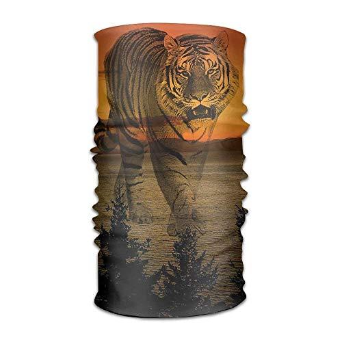 GHEDPO Stirnband Headwear Fantasy Tiger Multifunctional Headbands Outdoor Magic Scarf As Sport Headwrap,Sweatband,Neck Gaiter,Tube Mask,Face Bandana | 06468358433897