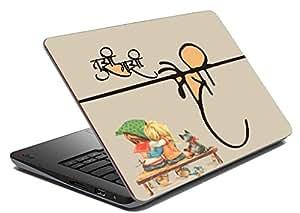 meSleep Friendship Laptop Skin
