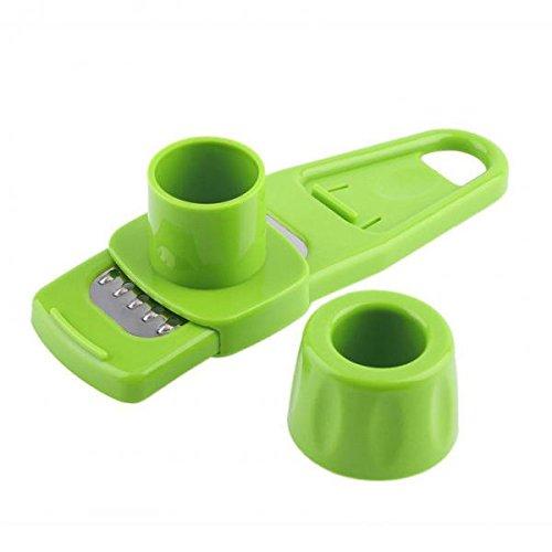 Gazechimp Multifunktions Mini Knoblauch Press Mühle Mahlen Reibe Schredder Küchenwerkzeug