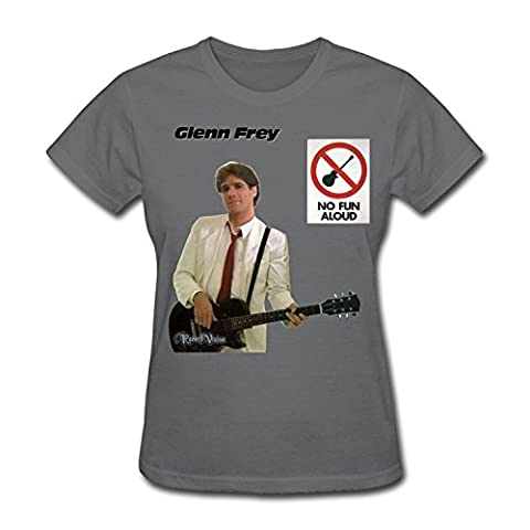 Glenn Frey No Fun Aloud - Gaowee Femme's Eagles Band Logo Glenn Frey
