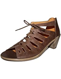 Theresia muck genova 54218–021–453 chaussures pour femme marron (désert) taille 42 (uK 8)