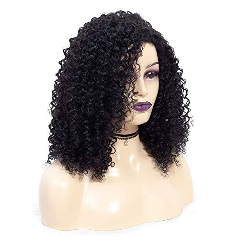 wig JUN Mode Perücke afrikanische Frau explodiert kleine lockige Haare Perücke (Mädchen-kleidung-speicher Amerikanische)
