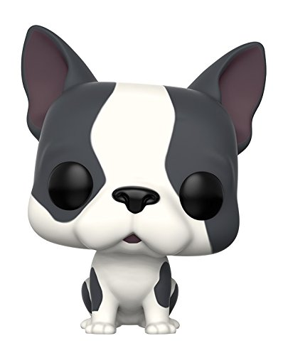 Funko 11254 POP Vinylfigur: Pets: French Bulldog Grey & White, Standard French White Pop