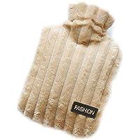 Preisvergleich für iStary Wärmflasche Mit Super Soft Luxury Plüschbezug Kinder Handwärmer Kinder Wärmflasche-Wasserheizung Handtasche...