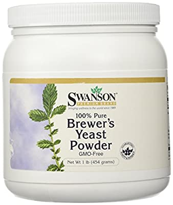 Swanson 100% Pure Brewer's Yeast Powder GMO-Free 454g