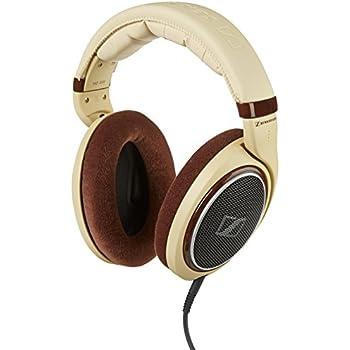 Sennheiser HD 598 Around-Ear Open Back Headphones - Cream/Brown