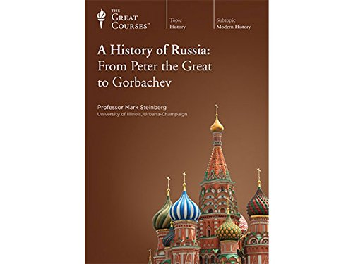 A History of Russia: From Peter the Great to Gorbachev por Mark Steinberg