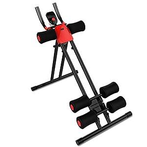 41 4t cG0kL. SS300  - SZQ Abdominal Trainer, Abdominal Machine Household Thin Waist Machine Lazy Movement Foldable Fitness Equipment 88 * 54 * 102CM Weight loss helper