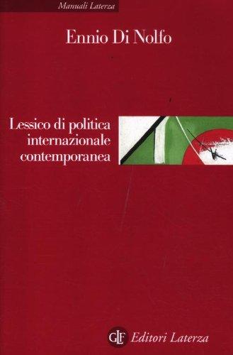 Lessico di politica internazionale contemporanea