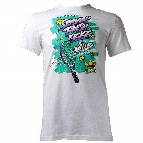 adidas Herren Funnelneck T-Shirts, White/Green, S Preisvergleich