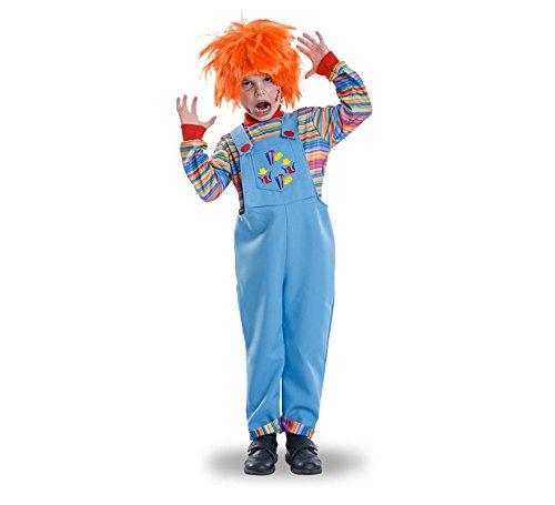 Imagen de disfraz de muñeco diabólico para niño