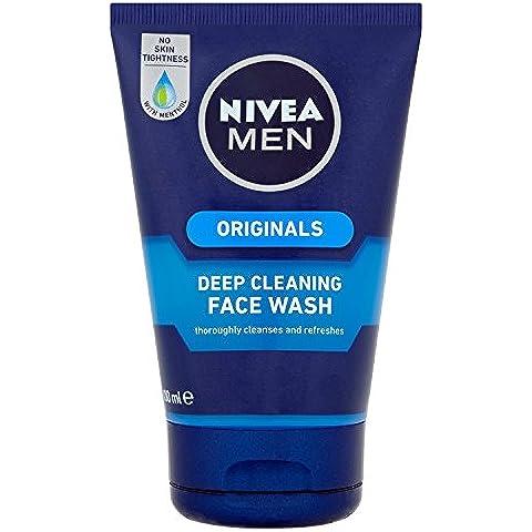 Nivea For Men Deep Cleansing Face Wash