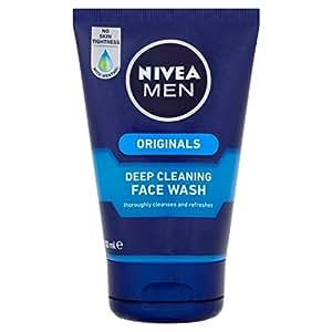Nivea Men Originals Deep Cleaning Face Wash, 100ml