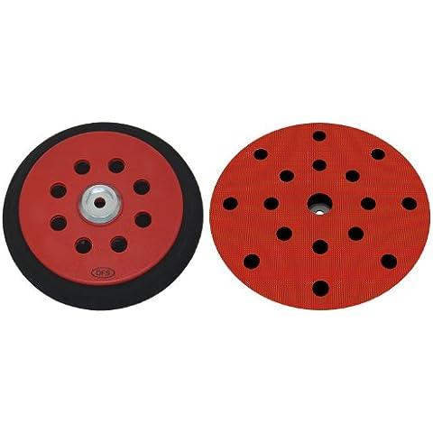 Plato lijador medio para Festool RO150 disco de lijado de VELCRO Ø 150mm - con 17-agujeros para la extracción de polvo - suave medio o duro - a su elección -