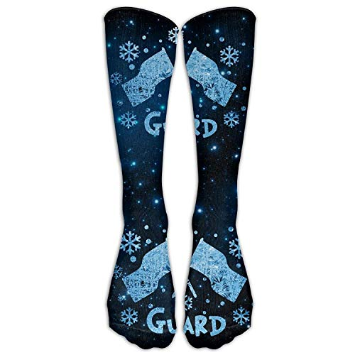 fghjdfcnfd Winter Color Guard Flag Casual Unisex Sock Knee Long High Socks Sport Athletic Crew Socks One Size -