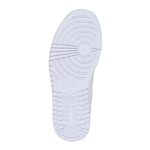 Nike Jordan Air Jordan 1 Low scarpa da basket Blanco (White / White-Metallic Silver)