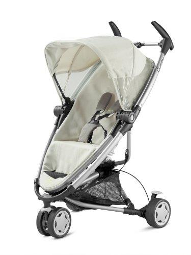 Imagen principal de Quinny 72905960 Zapp Xtra - Silla de paseo con cesto de la compra, capota, protector para la lluvia, pinza para sombrilla y adaptador para capazo (3 ruedas), color crudo