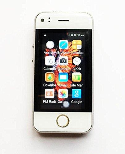 Hipipooo Mini Resto-tasca Phonebaby Smartphone GSM sbloccato 2,45