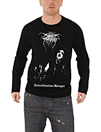 Darkthrone T Shirt Herren Schwarz Transylvanian Hunger Nue offiziell long sleeve