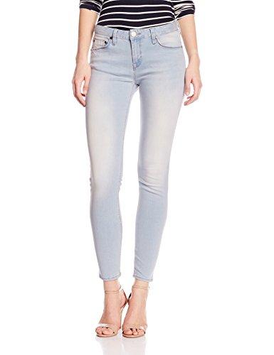 Herrlicher Damen Skinny Jeans Superslim Denim Blau (brilliant 684)