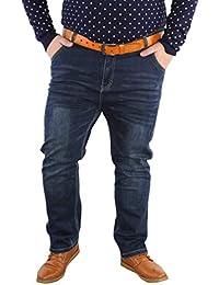 102ffb7d15269 Anaisy Pantalon Jeans pour Hommes Jeans Baggy Pantalon Plus Denim Jeans  Szie Taille Haute Jeune en