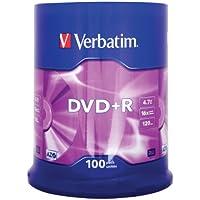 Verbatim 43551 4.7GB 16x DVD + R Matt Silber - 100 Pack Spindel
