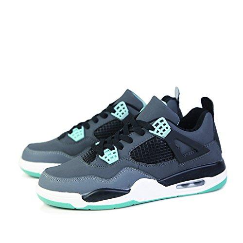 Men's Jordan Retro Basket Homme Outdoor Trainers Shoes Grey