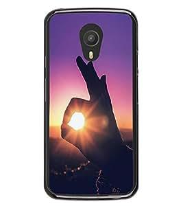 Fiobs High Glossy Designer Phone Back Case Cover Meizu M1 Note :: Meizu Note 1 ( Super OM Peace Sunlight )