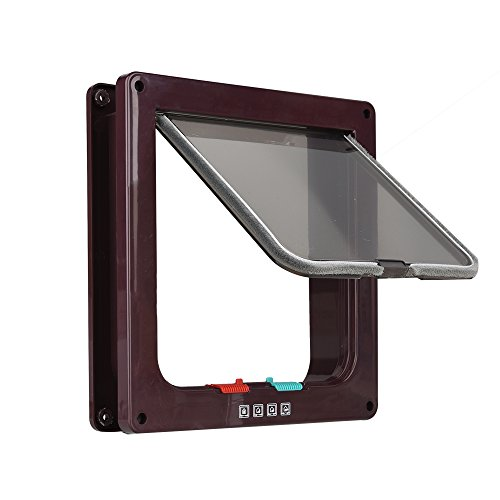 OIZEN 4-Modo Puerta Magnética Bloqueable Aleta Gato