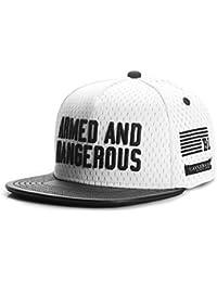 Cayler & Sons Herren Caps / Snapback Cap Black Label Armed N' Dangerous weiß Verstellbar