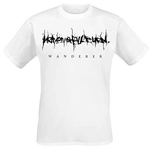 Heaven Shall Burn Wanderer T-Shirt Weiß L (Burn-jungen-t-shirt)