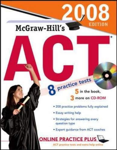McGraw-Hill's ACT 2008 (McGraw-Hill's ACT (W/CD)) (Prep Software Act)