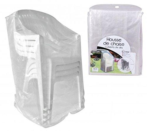 Housse de Protection Chaise De Jardin PE Etanche BAIN DE SOLEIL