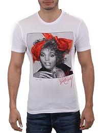 """Eleven Paris Herren Shirt """"Whitney Scarf TS"""" white Größe S"""