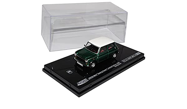Mini Cooper MKI Schwarz mit weißem Dach 1990 1//43 Vitesse Modell Auto mit oder o